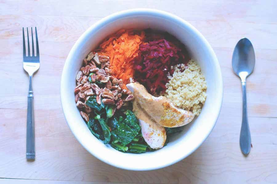 Rainbow Salad By Dan Churchill