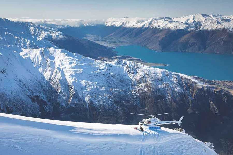 New Zealand Heli-Skiing