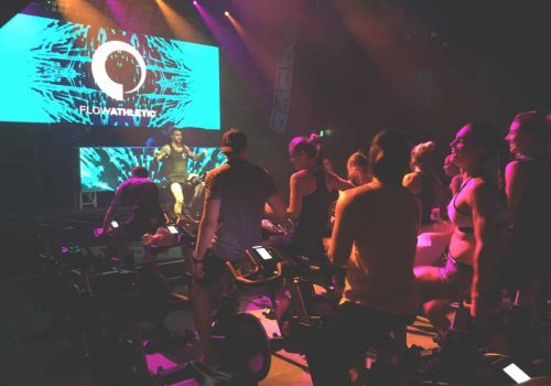 5 THINGS WE LEARNED BY DOING A SPIN CLASS IN A NIGHTCLUB
