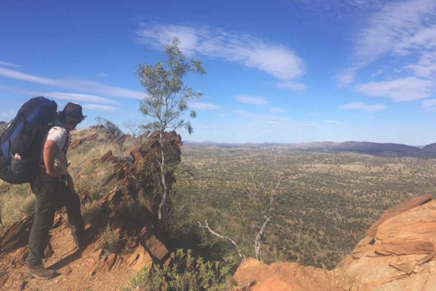 Larapinta Trail, Photo: Harriet McCready