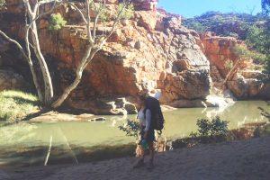 The Larapinta Trail, Harriet Farkarsh