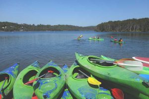 Kayaking-at-Narrabeen---Julie-Ihle