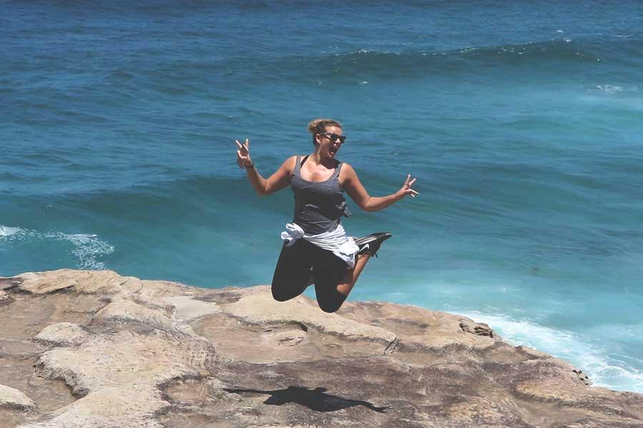 Fiona Faulkiner Sydney fitness Expedia