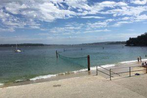 Best swimming beaches sydney Neilsen Park