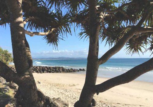Main Beach, Byron Bay by Lucy E Cousins