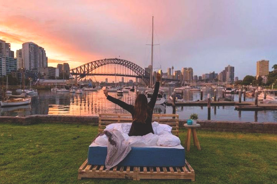 Koala Mattress Sydney Harbour