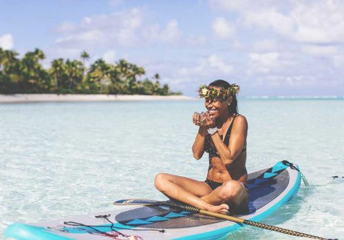 A YOGA AND SUP RETREAT IN THE COOK ISLANDS? YES, PLEASE
