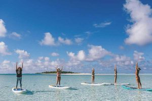 Yoga retreat cook islands south pacific