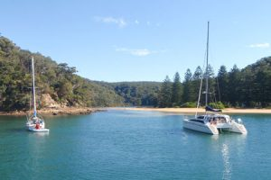 Camping near Sydney