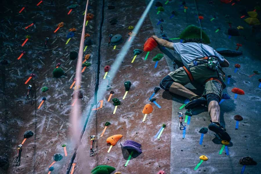 The biggest climbing gyms in Sydney