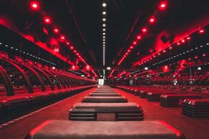 The Red Room at Barry's Bootcamp