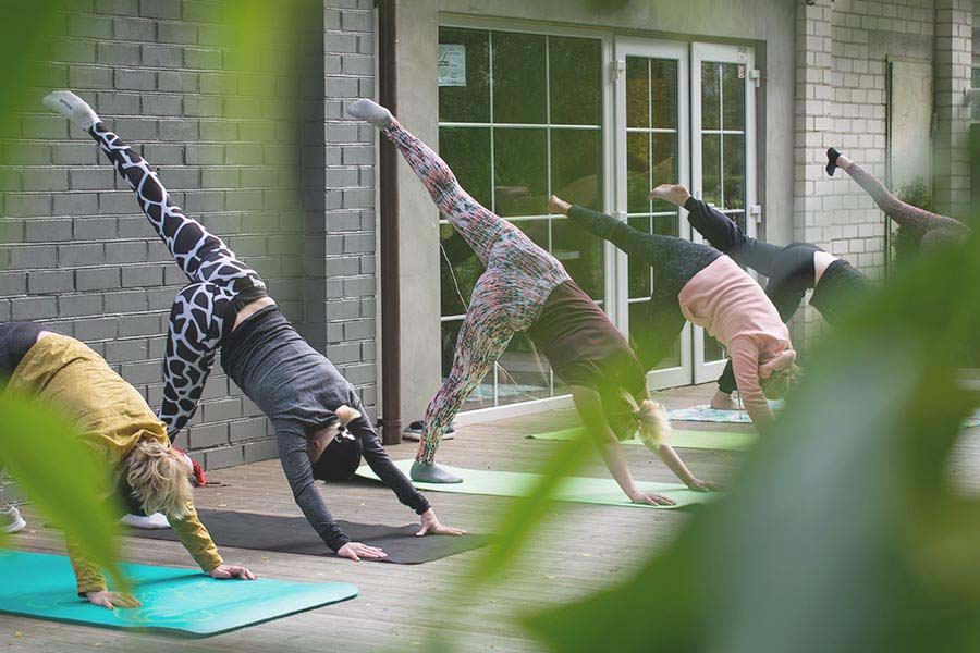 YOGA WITH HEART: GET FIT FOR A GREAT CAUSE