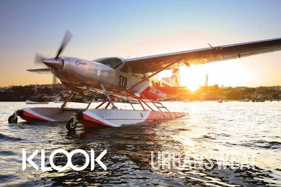 WIN! A SYDNEY HARBOUR SCENIC FLIGHT FROM KLOOK, WORTH $200!