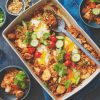 SUPER-EASY NASI GORENG ONE-TRAY BAKE