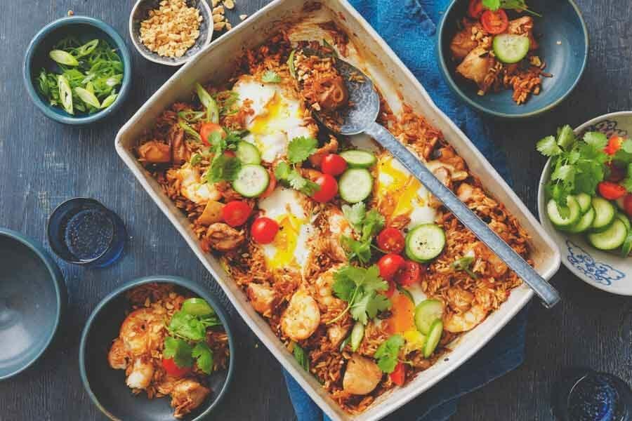 Easy Mid-week dinners - Nasi Goreng