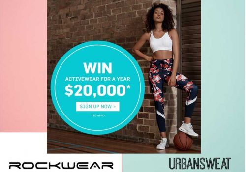 WIN! FREE ROCKWEAR ACTIVEWEAR FOR A YEAR