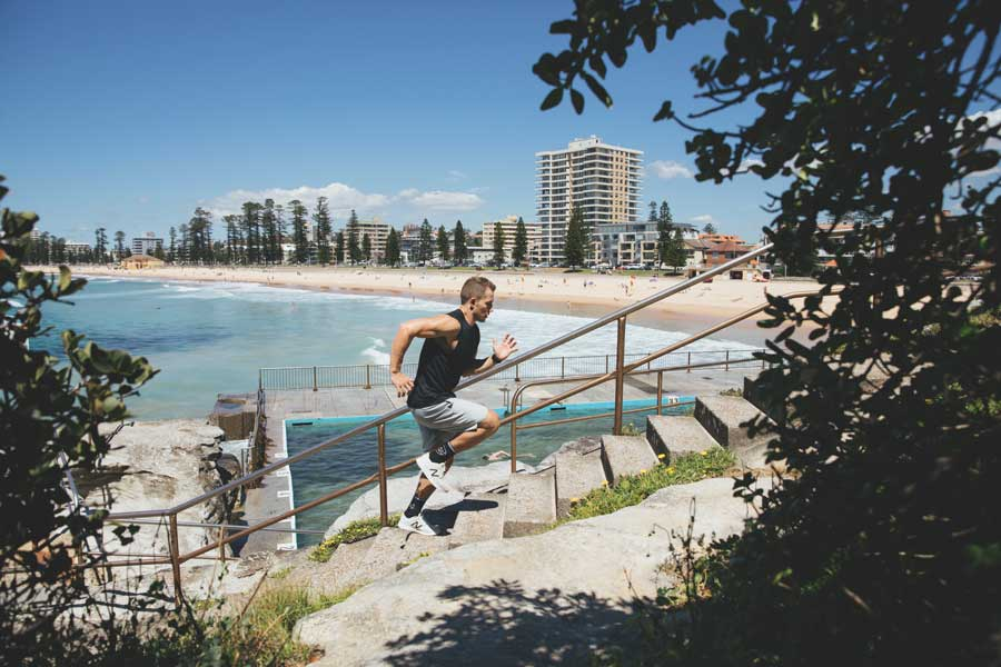 Where to workout in Manly Beach