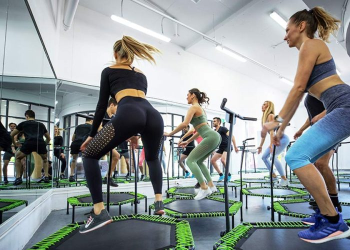 WHY TRAMPOLINE FITNESS IS THE NEW CARDIO