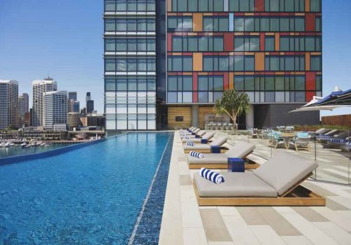 Sydney hotels with gyms
